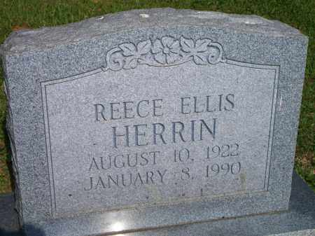 HERRIN, REECE ELLIS - Scott County, Arkansas | REECE ELLIS HERRIN - Arkansas Gravestone Photos