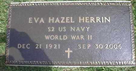 HERRIN  (VETERAN WWII), EVA HAZEL - Scott County, Arkansas | EVA HAZEL HERRIN  (VETERAN WWII) - Arkansas Gravestone Photos