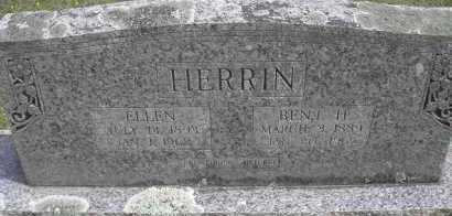 HERRIN, ELLEN - Scott County, Arkansas | ELLEN HERRIN - Arkansas Gravestone Photos