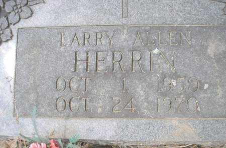 HERRIN, LARRY ALLEN - Scott County, Arkansas | LARRY ALLEN HERRIN - Arkansas Gravestone Photos