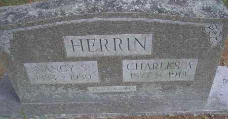 HERRIN, CHARLES AUGUSTUS - Scott County, Arkansas | CHARLES AUGUSTUS HERRIN - Arkansas Gravestone Photos