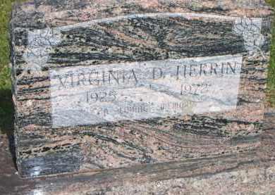 HERRIN, VIRGINIA D - Scott County, Arkansas | VIRGINIA D HERRIN - Arkansas Gravestone Photos