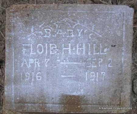 HILL, FLOID H - Scott County, Arkansas | FLOID H HILL - Arkansas Gravestone Photos