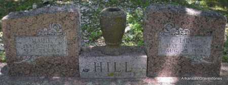 HILL, LON - Scott County, Arkansas | LON HILL - Arkansas Gravestone Photos