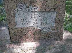 HILL, LON (CLOSEUP) - Scott County, Arkansas | LON (CLOSEUP) HILL - Arkansas Gravestone Photos