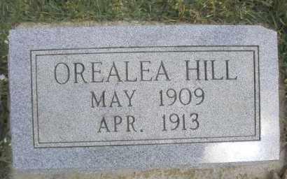 HILL, OREALEA - Scott County, Arkansas | OREALEA HILL - Arkansas Gravestone Photos