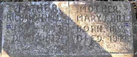 HILL, MARY JANE - Scott County, Arkansas   MARY JANE HILL - Arkansas Gravestone Photos