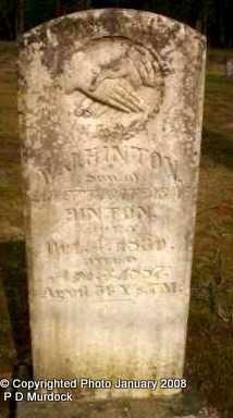 HINTON, WILLIAM JENNINGS - Scott County, Arkansas | WILLIAM JENNINGS HINTON - Arkansas Gravestone Photos