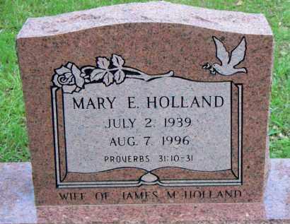 HOLLAND, MARY E - Scott County, Arkansas | MARY E HOLLAND - Arkansas Gravestone Photos