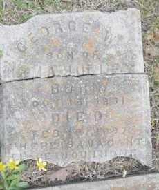 HOLLEY, GEORGE W - Scott County, Arkansas | GEORGE W HOLLEY - Arkansas Gravestone Photos