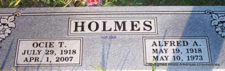 HOLMES, OCIE T - Scott County, Arkansas | OCIE T HOLMES - Arkansas Gravestone Photos