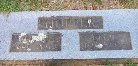 HOPPER, CECIL - Scott County, Arkansas | CECIL HOPPER - Arkansas Gravestone Photos