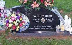 HORN, WESLEY - Scott County, Arkansas | WESLEY HORN - Arkansas Gravestone Photos