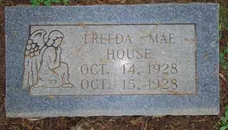 HOUSE, FREEDA MAE - Scott County, Arkansas | FREEDA MAE HOUSE - Arkansas Gravestone Photos