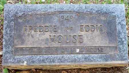 HOUSE, EDDIE - Scott County, Arkansas | EDDIE HOUSE - Arkansas Gravestone Photos