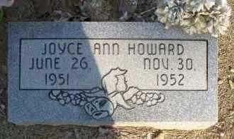 HOWARD, JOYCE ANN - Scott County, Arkansas | JOYCE ANN HOWARD - Arkansas Gravestone Photos