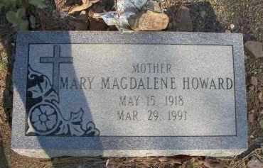HOWARD, MARY MAGDALENE - Scott County, Arkansas | MARY MAGDALENE HOWARD - Arkansas Gravestone Photos