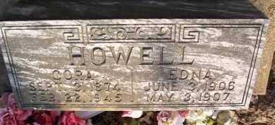HOWELL, CORA - Scott County, Arkansas | CORA HOWELL - Arkansas Gravestone Photos