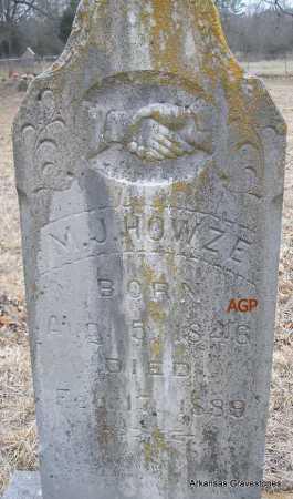 HOWZE, M J - Scott County, Arkansas | M J HOWZE - Arkansas Gravestone Photos