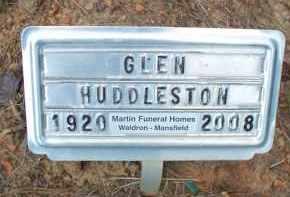 HUDDLESTON, GLEN - Scott County, Arkansas | GLEN HUDDLESTON - Arkansas Gravestone Photos
