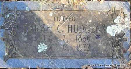 HILL HUDGENS, SARAH C - Scott County, Arkansas | SARAH C HILL HUDGENS - Arkansas Gravestone Photos