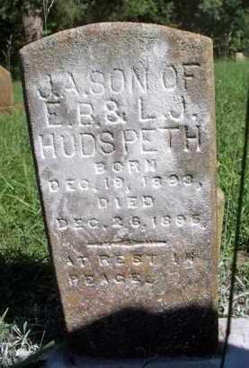HUDSPETH, J A - Scott County, Arkansas | J A HUDSPETH - Arkansas Gravestone Photos