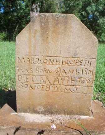 HUDSPETH, MARION - Scott County, Arkansas | MARION HUDSPETH - Arkansas Gravestone Photos