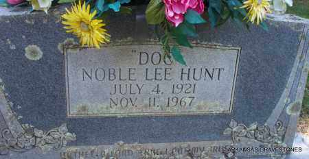 "HUNT, NOBLE LEE ""DOC"" - Scott County, Arkansas 