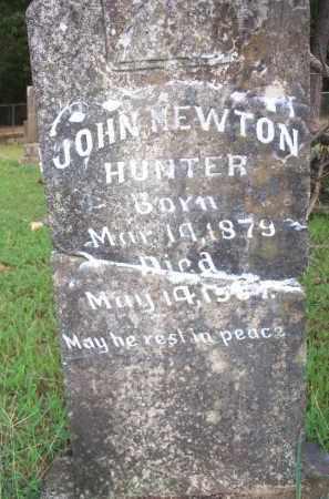 HUNTER, JOHN NEWTON - Scott County, Arkansas | JOHN NEWTON HUNTER - Arkansas Gravestone Photos