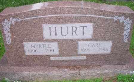 HURT, GARY - Scott County, Arkansas | GARY HURT - Arkansas Gravestone Photos