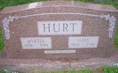 HURT, MYRTLE - Scott County, Arkansas | MYRTLE HURT - Arkansas Gravestone Photos