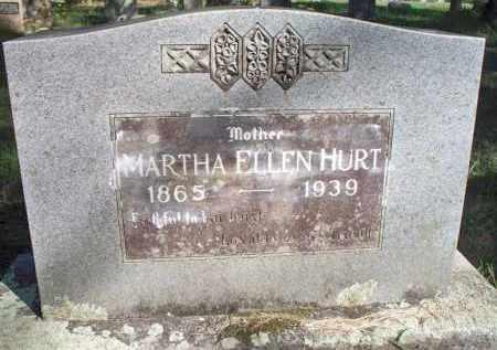 HURT, MARTHA ELLEN - Scott County, Arkansas | MARTHA ELLEN HURT - Arkansas Gravestone Photos