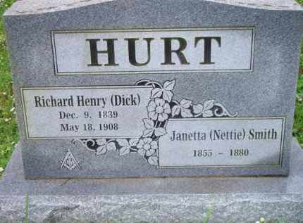 HURT, JANETTA (NETTIE) - Scott County, Arkansas | JANETTA (NETTIE) HURT - Arkansas Gravestone Photos