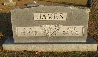 JAMES, BERT - Scott County, Arkansas   BERT JAMES - Arkansas Gravestone Photos