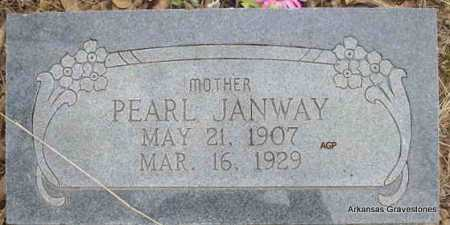 JANWAY, PEARL - Scott County, Arkansas | PEARL JANWAY - Arkansas Gravestone Photos
