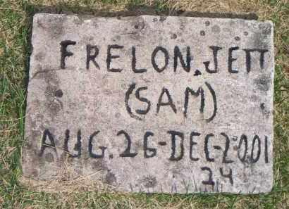 JETT, FRELON  (SAM) - Scott County, Arkansas   FRELON  (SAM) JETT - Arkansas Gravestone Photos