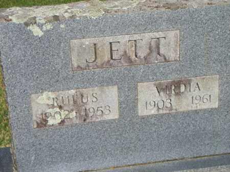 JETT, VIRDIA - Scott County, Arkansas   VIRDIA JETT - Arkansas Gravestone Photos