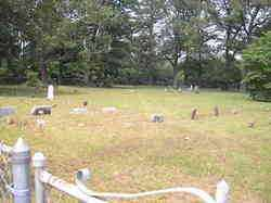 *JOHNSON CEMTERY OVERVIEW,  - Scott County, Arkansas    *JOHNSON CEMTERY OVERVIEW - Arkansas Gravestone Photos