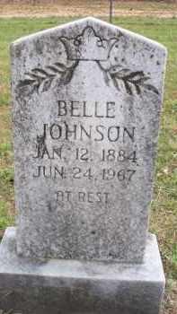 WOOD JOHNSON, BELLE - Scott County, Arkansas | BELLE WOOD JOHNSON - Arkansas Gravestone Photos