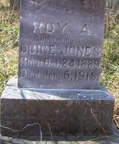 JONES  (VETERAN), ROY A - Scott County, Arkansas | ROY A JONES  (VETERAN) - Arkansas Gravestone Photos