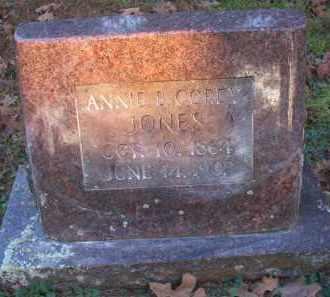 JONES, ANNIE B - Scott County, Arkansas | ANNIE B JONES - Arkansas Gravestone Photos