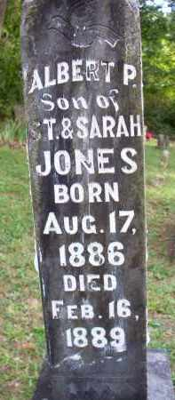 JONES, ALBERT P - Scott County, Arkansas | ALBERT P JONES - Arkansas Gravestone Photos