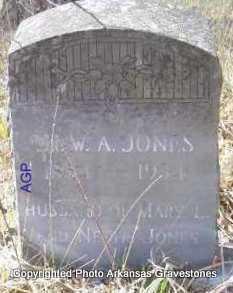 JONES, DR  W  A - Scott County, Arkansas | DR  W  A JONES - Arkansas Gravestone Photos