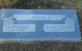 JONES, JULIA - Scott County, Arkansas | JULIA JONES - Arkansas Gravestone Photos