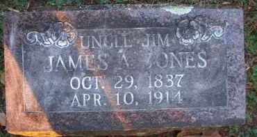 JONES, JAMES A - Scott County, Arkansas | JAMES A JONES - Arkansas Gravestone Photos