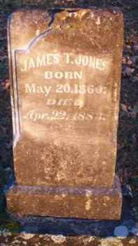 JONES, JAMES T - Scott County, Arkansas | JAMES T JONES - Arkansas Gravestone Photos