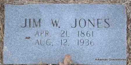 JONES, JIM W - Scott County, Arkansas   JIM W JONES - Arkansas Gravestone Photos