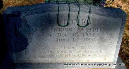 JONES, JAMES EVERETT - Scott County, Arkansas   JAMES EVERETT JONES - Arkansas Gravestone Photos