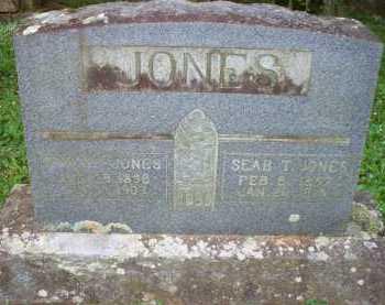 JONES, SEAB T - Scott County, Arkansas | SEAB T JONES - Arkansas Gravestone Photos