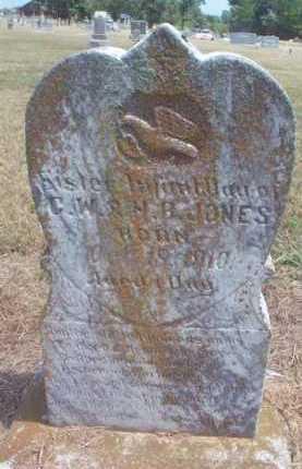 JONES, SISTER - Scott County, Arkansas | SISTER JONES - Arkansas Gravestone Photos